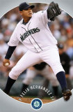 Seattle Mariners - Felix Hernandez Posters