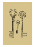 Antique Keys III Prints by  Vision Studio