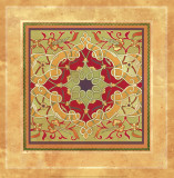 Italian Tile VII Affiche par Paula Scaletta