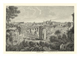 Piranesi View of Rome II natural Reproduction proc&#233;d&#233; gicl&#233;e par Giovanni Battista Piranesi