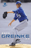 Kansas City Royals - Zack Greinke Poster