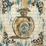 Perfune Bottles II Print by Debbie DeWitt