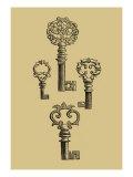 Antique Keys IV Print
