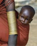 Samburu Baby, Kenya Posters av John Warburton-lee