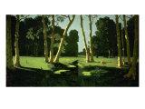 A Birch Grove, 1879 Affiche par Arkhip Ivanovitch Kuinji