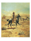 Through the Alkali Giclee Print by Charles Marion Russell