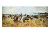 Lewis and Clark Meeting The Flatheads Giclee Print by Charles Marion Russell