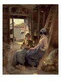 Sisters Poster by Konstantin Egorovich Makovsky