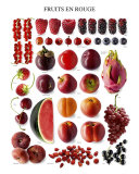 Red Fruit Poster