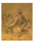 Lady with Angels Posters av Parmigianino,
