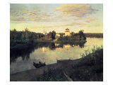 Evening Bells, 1892 Giclee Print by Isaak Ilyich Levitan