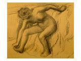 After Bath, 1892 Premium Giclee Print by Edgar Degas