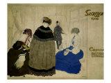Secession 1908 Prints by Leon Bakst