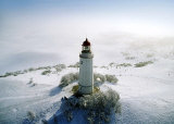 Lighthouse, Hidensee Island, Germany Prints by Eller Brock
