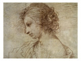 Profile of a Woman Lámina giclée por Guercino (Giovanni Francesco Barbieri)
