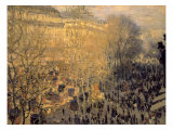 Boulevard des Capucines Poster by Claude Monet