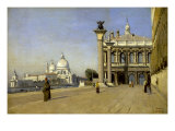 Morning in Venice Prints by Jean-Baptiste-Camille Corot