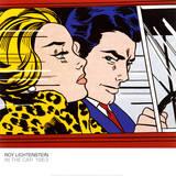 Roy Lichtenstein - In the Car, c.1963 - Reprodüksiyon