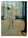 Dancer in Front of a Window Premium Giclee Print by Edgar Degas