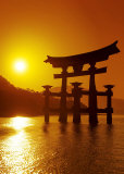 O-Torii Gate, Itsukushima Shrine, Japan Print by Paul Thompson