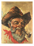 Tombstone Pete Premium Giclee Print by Endre Szabo