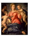 The Holy Family Prints by Agnolo Bronzino
