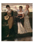 Music in the Fields Prints by Arnold Bocklin