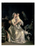 Motherhood, 1805 Giclee Print by Marguerite Gerard