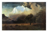 Mount Adams, Washington Prints by Albert Bierstadt