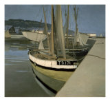 Sailboats in the Bay of Tregastel Prints by Félix Vallotton