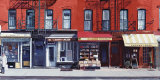 Four Shops on 11th Avenue, New York, c.2003 Prints by Anthony Butera
