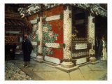 Shinto Temple in Nikko Poster von Vasilij Vereshchagin