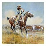 Beef for the Fighters Giclee Print by Charles Marion Russell