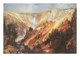 The Grand Canyon of the Yellowstone Giclee Print by Thomas Moran