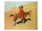 The Scout Giclee Print by Frederic Sackrider Remington