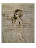 Sketch of a Child Lámina giclée por Guercino (Giovanni Francesco Barbieri)
