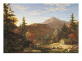 The Hunter's Return Prints by Thomas Cole