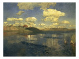 Lake, Russia, 1900 Giclee Print by Isaak Ilyich Levitan