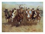 Danza de la victoria Láminas por Frederic Sackrider Remington