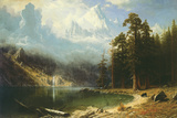 Mount Corcoran Premium gicléedruk van Albert Bierstadt