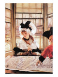 A Tedious History Prints by James Tissot