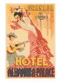 Hotel Alhambra - Palace Giclée-Premiumdruck