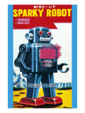 Sparky Robot Posters