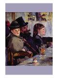 Cabaret In Reichshoffen Prints by Édouard Manet
