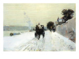 Along The Seine Prints by Childe Hassam