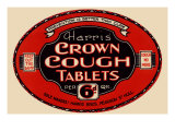 Harris' Crown Cough Tablets Art