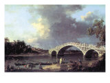 Bridge Prints by  Canaletto