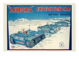 Aurora Expedition Car Print