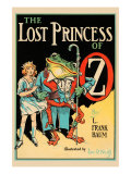 The Lost Princess of Oz Premium Giclee Print by John R. Neill