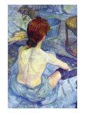 Rousse The Toilet Posters av Henri de Toulouse-Lautrec
